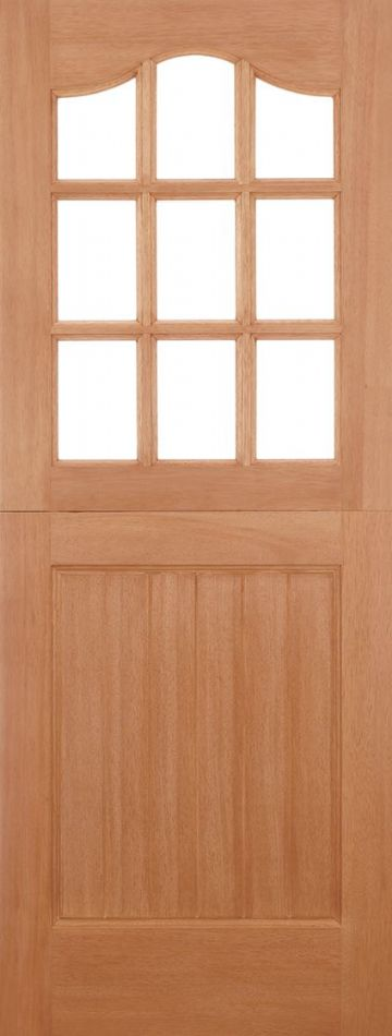 Hardwood Stable Unglazed Dowelled (9L)